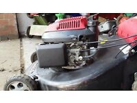 20 inch self-propelled Honda Mountfield Rotary lawnmower no longer required