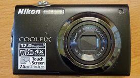 Nicon Coolpix S4000 12 Megapixel Camera