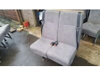 Double Van Seat with belts (singles also available)