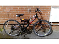 NO FEAR Ghost - full suspension mountain bike