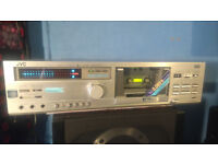 Vintage JVC DD-5 Direct Drive Stereo Cassette Deck Full Working Order £70 OVNO