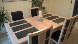 Dining Room Table and Chairs plus Drinks Cabinet