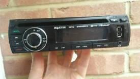 Maxtek car stereo, bluetooth, aux, usb.