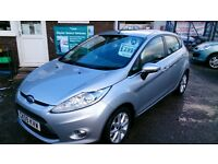 CAR OF THE WEEK....NEW SHAPE FORD FIESTA 1.2 ZETEC 5 DOOR HATCH MAY 2017 MOT NEW SERVICE ALLOYS CD +