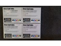 4 Packs of printer ink