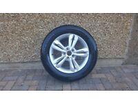 New hyundia ix35 alloy wheel and tyre