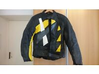 Akito motorcycle leathers, women's size 14