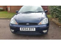 2004 Ford Focus low mileage/one year Mot