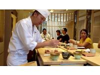 Sushi Chef Needed - Salary Negotiable