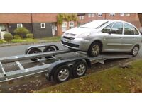 CAR TRAILER/TRANSPORTER-2000KG, WINCH, RAMPS-COVENTRY