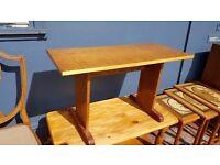Small Vintage Wood Table