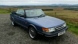 Saab 900 S Turbo 16v Classic Convertible