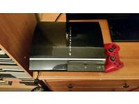 Playstation 3 with 40 games and 2 microphones