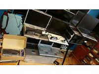 Joblot of 7 laptops most working with ram & HDDs