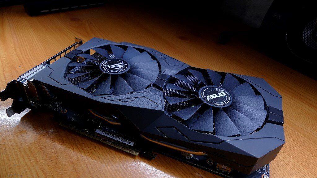 Strix GeForce GTX 1050 Ti 4GB GDDR5