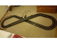 Mini Cooper scalextric set- Track length 650 cm