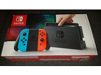 Nintendo Switch Console Neon Red/Blue BRAND NEW