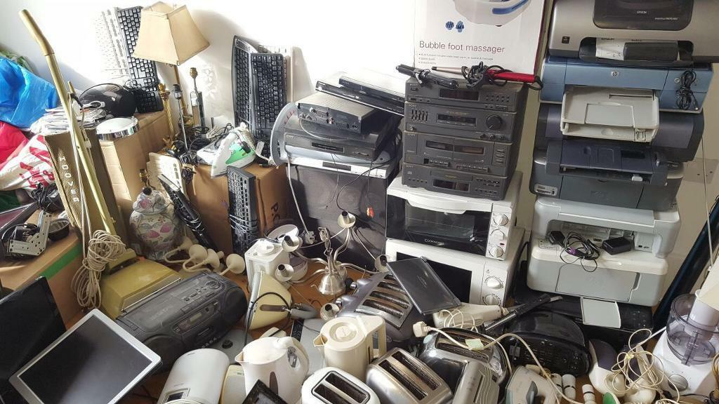 Job lot of electronics and others house clearance