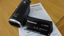 panasonic HC-V130 HD video camera.75X i ZOOM
