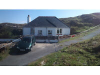 Scalpay, Isle of Harris: house to let