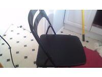 Folding chairs black