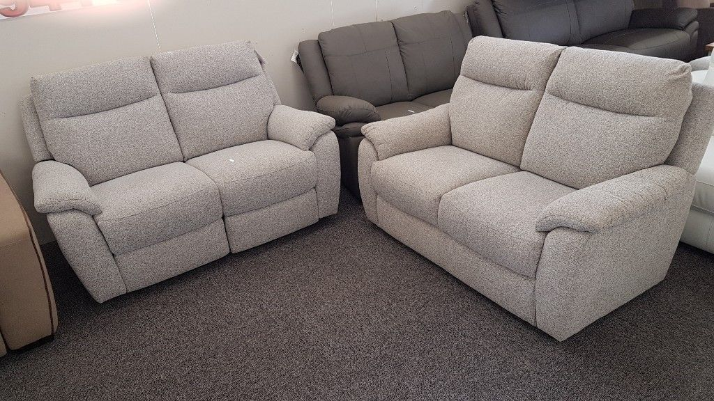 Furniture Village Bounce 2 Seater Electric Recliner Standard Fabric Sofas Can Deliver