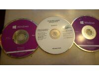 pc ** original windows 7 & 8 discs