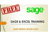 FREE SAGE & EXCEL TRAINING - BECOME CORPORATE JOB READY IN DAYS