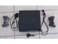 SuperSlim PS3 250gb with 4 games.