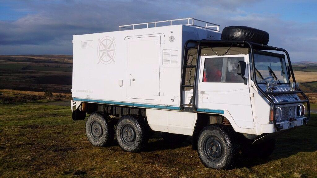 Off Road Camper 4x4 Expedition Pinzgauer Superb Land