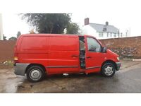 Mercedes Vito 2001 3owners Tax and mot red lovely van GAS BI-FUEL