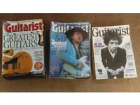 28 Guitarist Magazines and CDs - demo and tuition tracks