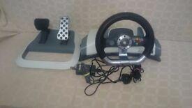 cheap Xbox 360 steering wheel !!!