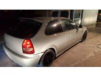 Honda civic ej9 ek eg ep2 ep3 type r new spray job