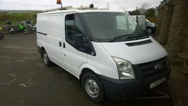 ford transit swb 85t 300s 2008 registration, 2.2 lt turbo diesel , only 91,000 miles, new mot