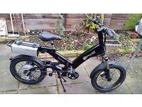 "A2B Electric Bike - 20"" frame -( Brand new is £2300) throttle repair."
