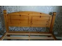 Solid Wood Bedframe Kingsize