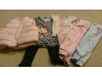bundles of girls clothes 12-18 months to 3-4 years