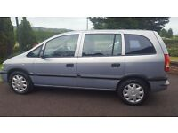 Vauxhall Zafira in veary good condition