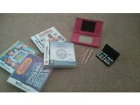 Pink Nintendo DS & Games
