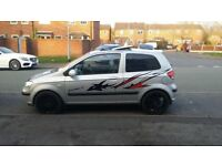 HYUNDAI GETZ 1.6 SPORT DOHC,,,54 REG,,SMOOTH DRIVE,,MOT AUG 18 ( NO ADVICE )