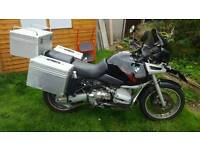 Bmw r1100 gs black 90000km MOT May 16 extras good solid working condition