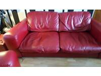 Large sofa and chair FREE