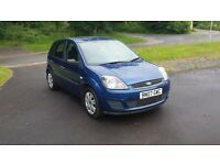FORD FIESTA STYLE 1.4 TDCI 07 2007 LOW TAX low mileage px possible