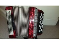 Weltmeister Grandina Bayan Accordion - 120 Bass B System