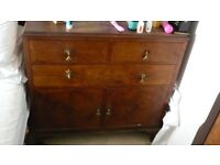 Walnut chest of drawers - Need gone ASAP