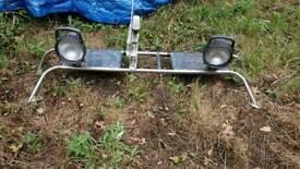 Radar bar dory cabin boat