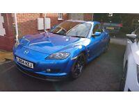 Mazda RX8 Winning Blue
