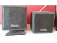 Creative Cambridge soundworks speakers with sound woofer