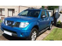 2006 NISSAN NAVARA AVENTURA £4995 offers considered. Lady owner, good condition!